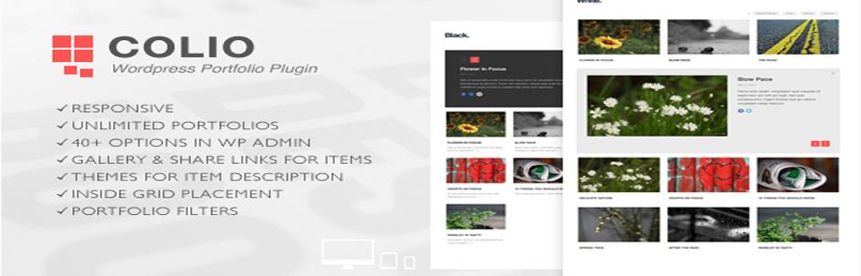 Colio Responsive WordPress Portfolio Plugin
