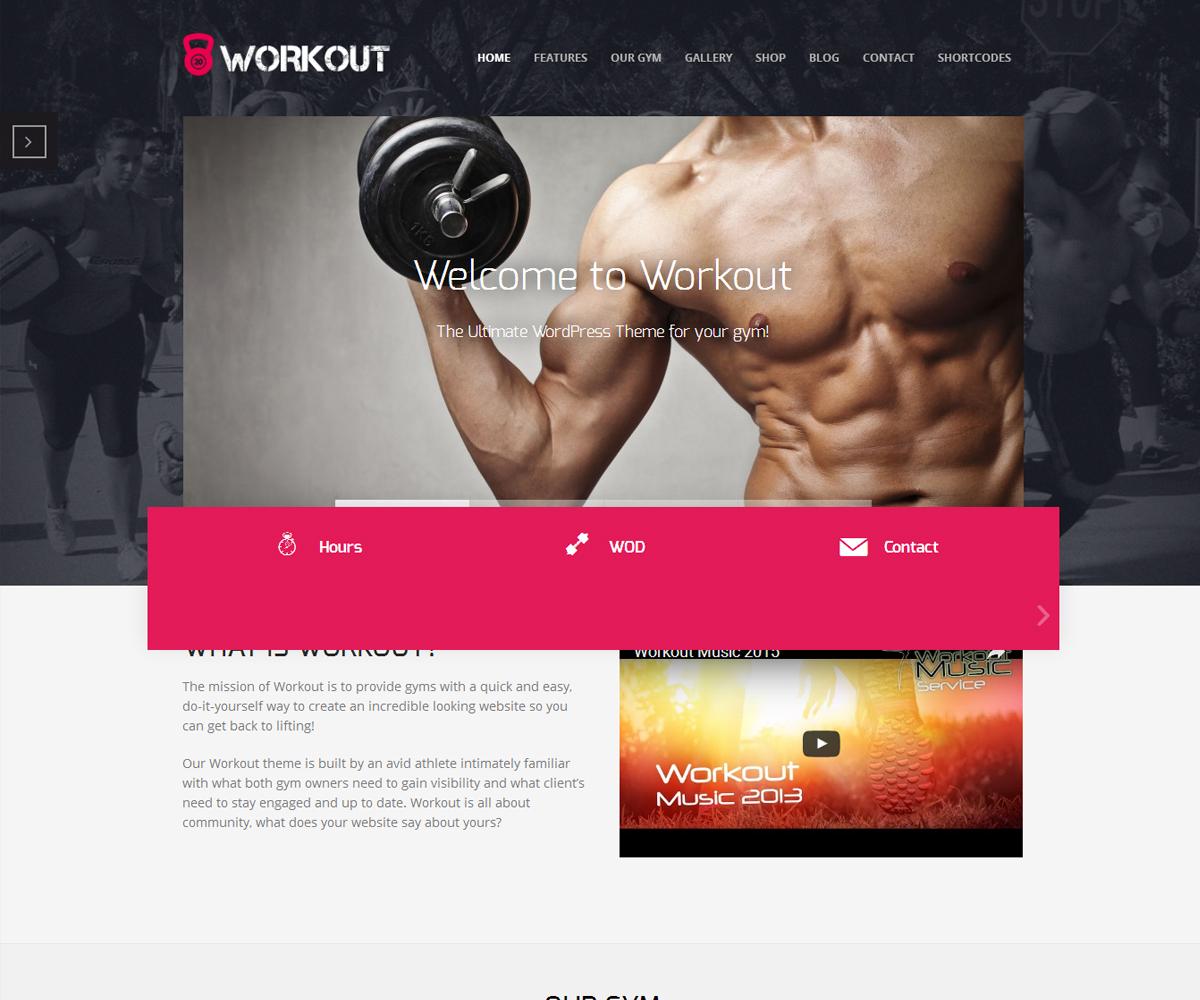 Workout Themes