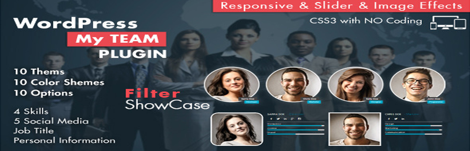My Team Showcase WordPress Plugin