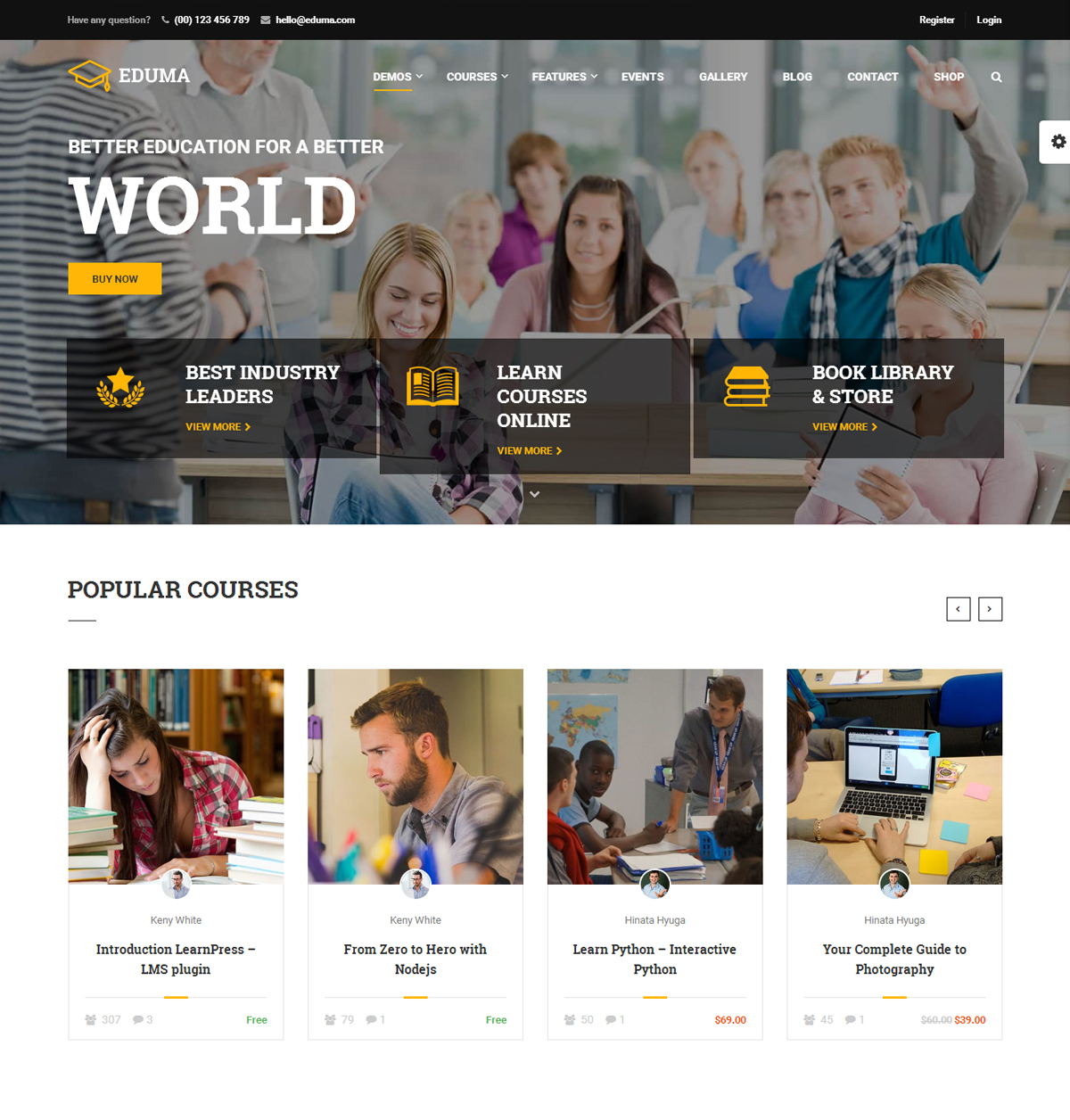 Education WrodPress Theme