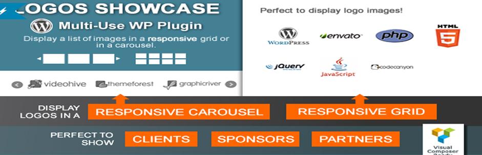 Logos Showcase | Multi use Responsive WP Plugin