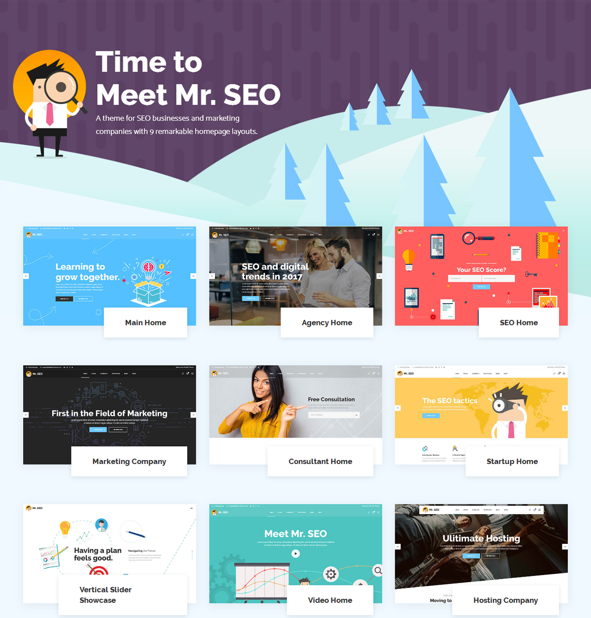 Mr SEO WordPress Theme