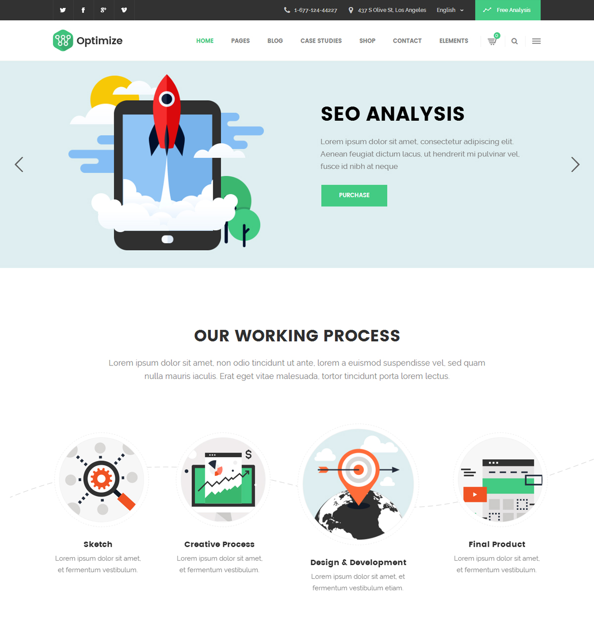 Optimize SEO WordPress Theme