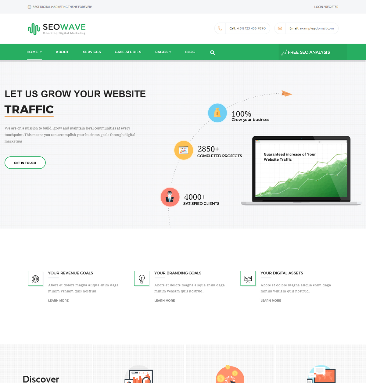 Seo Wave WordPress Theme