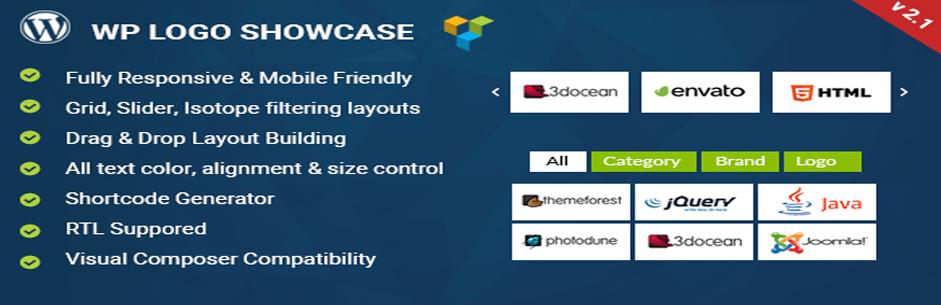 WP Logo Showcase | Responsive WP Plugin