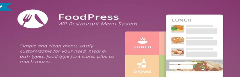 foodpress | Restaurant Menu & Reservation Plugin
